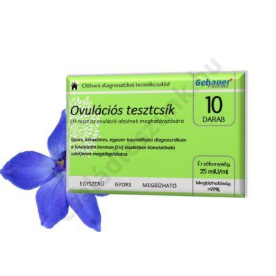 Gebauer Pharma ovulációs tesztcsík 10 db